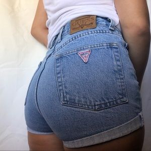 Vintage Guess high rise shorts /  size 10